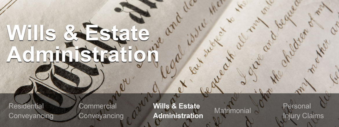 Wills, probate and estate planning